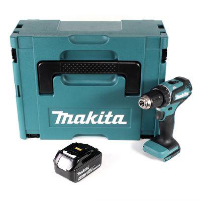 Makita DDF 485 M1J Akku Bohrschrauber 18V 50Nm Solo im Makpac + 1x 4,0 Ah Akku - ohne Ladegerät – Bild 2