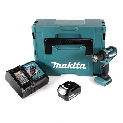 Makita DDF 485 RT1J 18 V Li-Ion Perceuse visseuse sans fil Brushless 13 mm + Coffret MakPac + 1 x Batterie 5,0 Ah + Chargeur – Bild 2