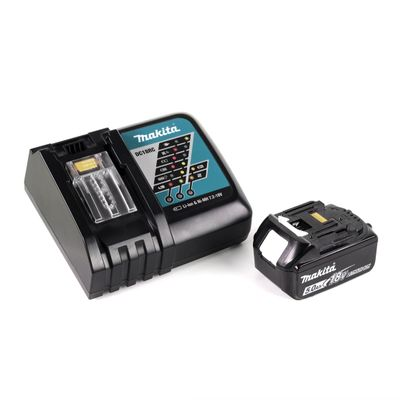 Makita DDF 485 RT1J 18 V Li-Ion Perceuse visseuse sans fil Brushless 13 mm + Coffret MakPac + 1 x Batterie 5,0 Ah + Chargeur – Bild 5