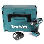 Makita DDF 485 G1J Akku Bohrschrauber 18V 50Nm im Makpac + 1x 6,0 Ah Akku - ohne Ladegerät