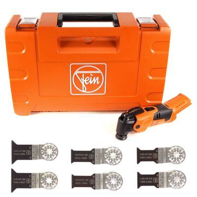 FEIN AFMM 18 QSL Select 18 V Li-Ion Akku Oszillierer MultiMaster im Koffer + 6 tlg. Starlock Sägeblätter Set – Bild 2