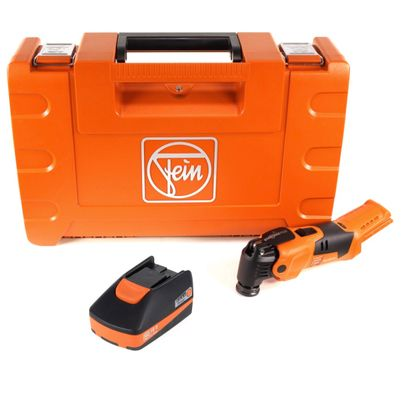 FEIN AFMM 18 QSL C 18 V Li-Ion Akku Oszillierer MultiMaster im Koffer + 1 x 2,5 Ah Akku - ohne Ladegerät – Bild 2