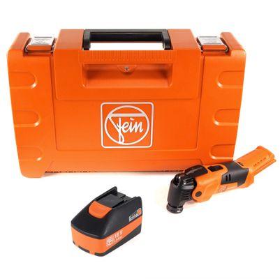 FEIN AFMM 18 QSL C 18 V Li-Ion Akku Oszillierer MultiMaster im Koffer + 1 x 5,0 Ah Akku - ohne Ladegerät – Bild 2