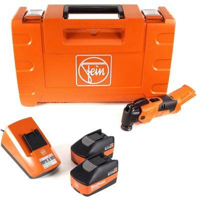 FEIN AFMM 18 QSL 18 V Li-Ion Akku Oszillierer MultiMaster im Koffer + 2 x 5,2 Ah Akku + Ladegerät – Bild 2