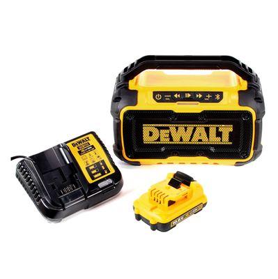 DeWalt DCR 011 Akku Bluetooth Lautsprecher 10,8-18V + 1x Akku 2,0Ah + Ladegerät – Bild 2