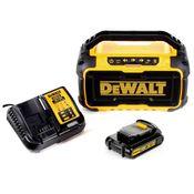 DeWalt DCR 011 10,8 - 18 V Akku Baustellen Radio mit Bluetooth + 1 x DCB 181 1,5 Ah Akku + DCB 113 Ladegerät