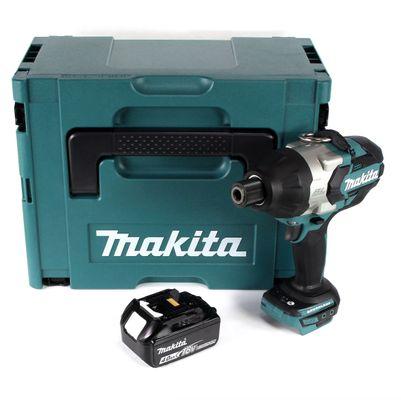 Makita DTW 800 M1J 18 V Li-Ion Akku Schlagschrauber im Makpac + 1 x 4,0 Ah Akku - ohne Ladegerät – Bild 2