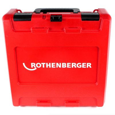 Rothenberger ROMAX Compact TT Set TH EU Akku Kompaktpressmaschine mit PB-Set TH16-20-26 elektrohydraulisch im Transportkoffer + 1 x 2,0 Ah Akku + 1x 4,0 Ah Akku + Ladegerät + 3 x Pressbacken ( 1000002120 ) – Bild 4