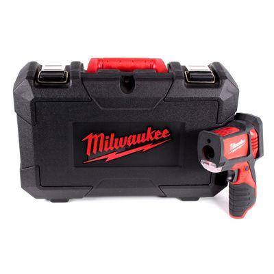 Milwaukee C12 LTGH Laser Messgerät 12 V Laser Gun Thermometer Wärmebildkamera Solo im Koffer - ohne Akku, ohne Ladegerät – Bild 2