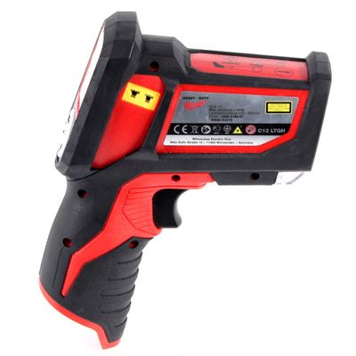 Milwaukee C12 LTGH Laser Messgerät 12 V Laser Gun Thermometer Wärmebildkamera Solo im Koffer - ohne Akku, ohne Ladegerät – Bild 5