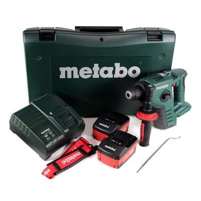 Metabo BHA 36 LTX Akku Bohrhammer 36 V im Koffer + 2 x 1,5 Ah Akku + Ladegerät – Bild 2