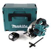 Makita DHS 660 T1J 18 V Li-Ion Akku Handkreissäge im Makpac + 1 x 5,0 Ah Akku - ohne Ladegerät