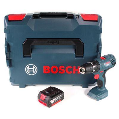 Bosch Professional GSB 18V-21 Akku Schlagbohrschrauber 18V 55Nm + 1x Akku 3,0Ah + L-Boxx - ohne Ladegerät – Bild 2