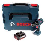 Bosch Professional GSB 18V-21 Akku Schlagbohrschrauber 18V 55Nm + 1x Akku 5,0Ah + L-Boxx - ohne Ladegerät