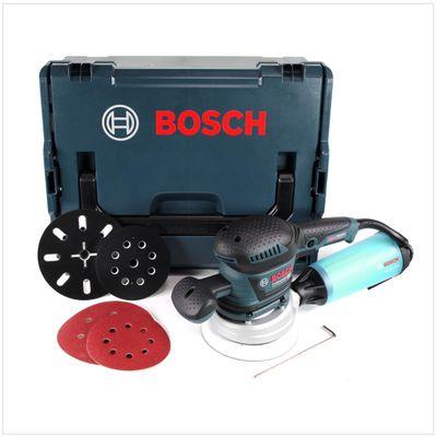 Bosch GEX 125 - 150 AVE Professional 400 W Ponceuse excentrique + Boîtier L-Boxx + Accessoires ( 060137B102 ) – Bild 2