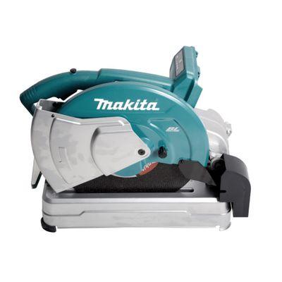Makita DLW 140 PT Akku Trennschleifmaschine 2 x 18 V 355 mm + 2x 5,0 Ah Akku und Doppelladegerät – Bild 5