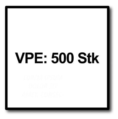 SPAX Universalschraube 4,0 x 60 mm 500 Stk. TORX T-STAR plus T20 WIROX Senkkopf Teilgewinde 4Cut-Spitze 0191010400605 – Bild 5