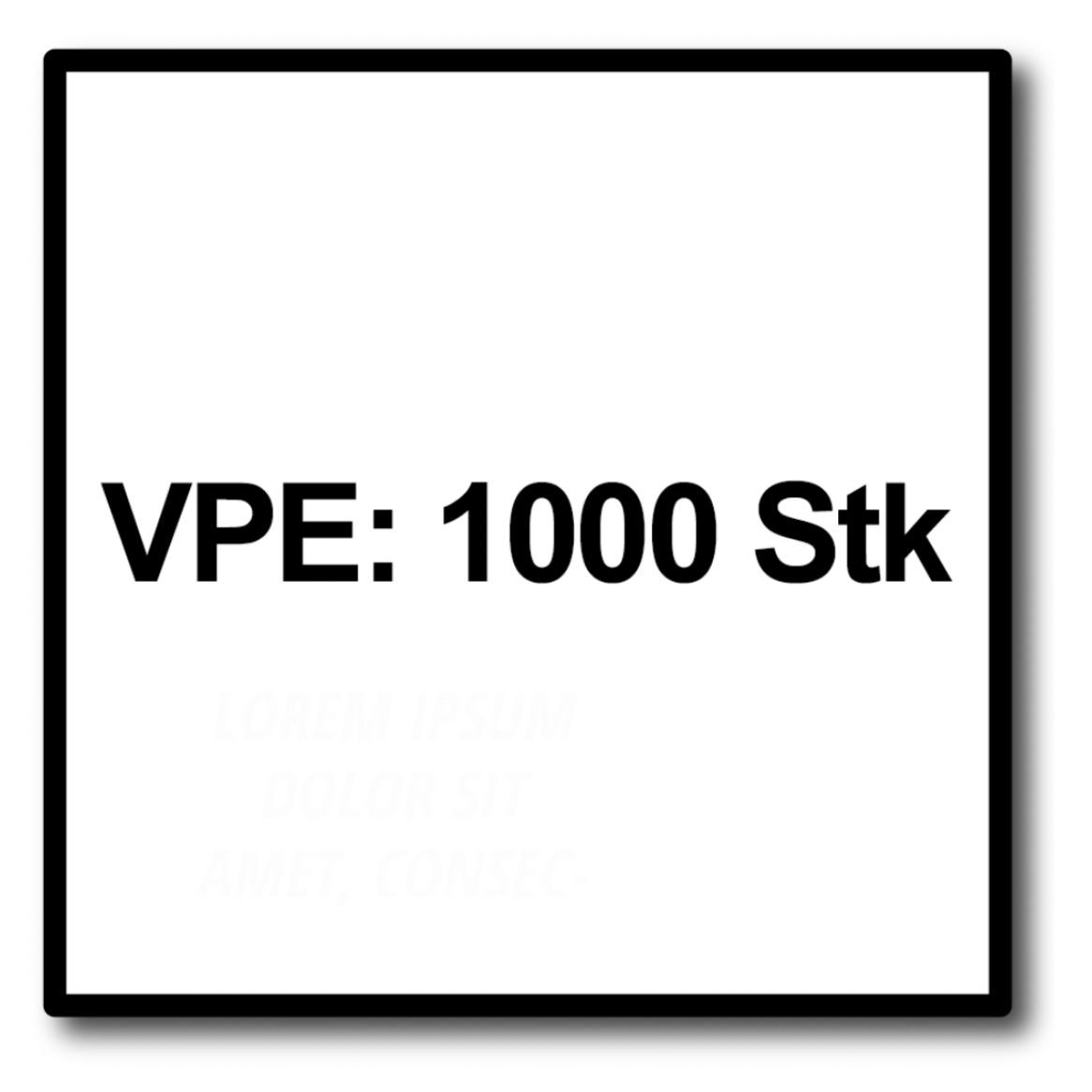 Teilgewinde WIROX SPAX Universalschraube Ø 6,0 mm T-STAR plus 4CUT Senkkopf