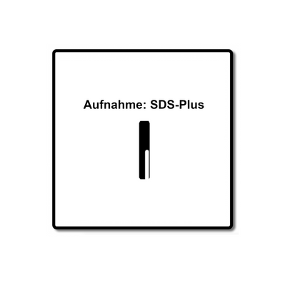 Makita NEMESIS 2 Hammer und Stahl Beton Bohrer SDS-Plus 6x165 ( B-57978 ) – Bild 5