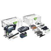 Festool Akku-Pendelstichsäge PSBC 420 Li 5,2 EBI-Set CARVEX 18 V im Systainer + 1 x 5,2 Ah Akku + Ladegerät + ZH-SYS Zubehörset ( 575741)