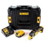 DeWalt DCS 355 M1 Akku Oszillierer 18V Brushless Solo + 1x Akku 4,0Ah + Ladegerät + TSTAK