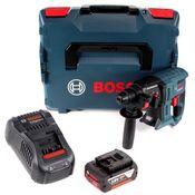 Bosch GBH 18 V-20 Akku Kombihammer 18V 1,7J SDS plus + 1x Akku 5,0Ah + Schnellladegerät + L-BOXX