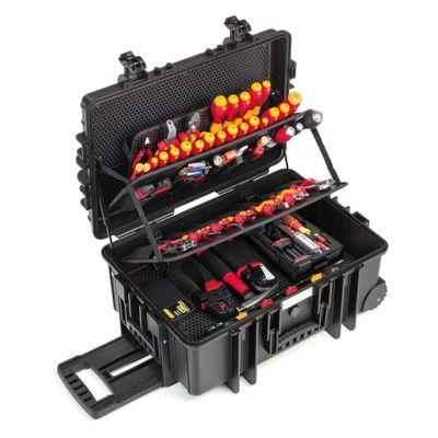 Wiha Electrician Competence XXL II mit speedE® - 80 Jahre Wiha Jubiläumsedition - 122-teiliges Elektriker-Set ( 9300704J ) – Bild 2