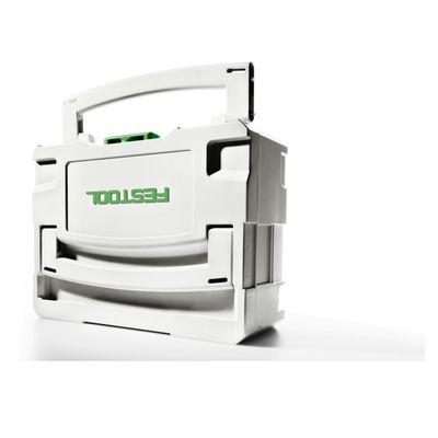 Festool 2 x Systainer T-LOC SYS 1 TL Werkzeug Koffer lichtgrau koppelbar ( 497563 ) – Bild 4