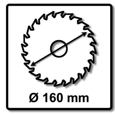Festool Feinzahn Kreissägeblatt HW 160 x 20 x 2,2 mm W48 160 mm 48 Zähne ( 3 x 491952 ) – Bild 3