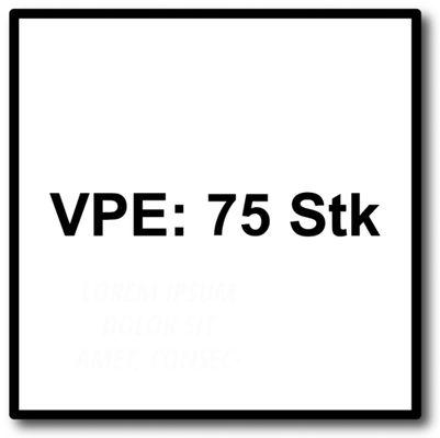 HECO MULTI-MONTI-plus SS Betonschraube 10 x 100 mm 75 Stk. SW 13 Sechskantkopf verzinkt A2K ( 3x 48453 ) – Bild 5