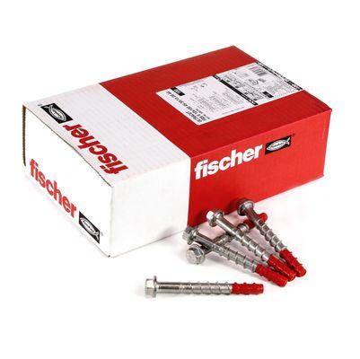 Fischer ULTRACUT FBS II A4 Betonschraube 10x100 mm 200 Stk. ( 2x 548744 ) Sechskantkopf SW15 Unterlegscheibe 45/35/15 A4 Edelstahl – Bild 2