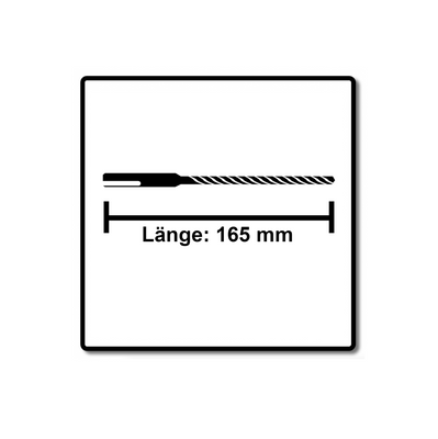 Makita NEMESIS 2 Hammer und Stahl Beton Bohrer SDS-Plus 6x165 - 2 Stück ( 2x B-57978 ) – Bild 3