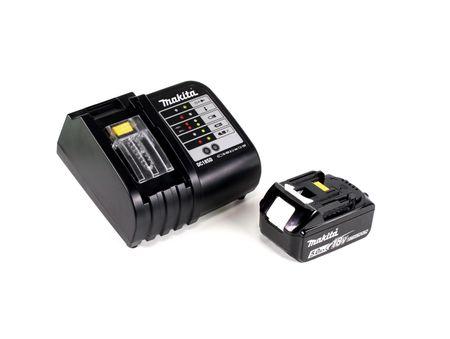 Makita DHP 483 ST1B Akku Schlagbohrschrauber 18V 40Nm Schwarz im Koffer + 38tlg. Bit-Bohrer-Set + 1x 5,0Ah Akku + Ladegerät – Bild 5