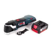 Bosch GOP 18 V-EC Professional Multi Cutter Multifunktionswerkzeug OIS / Starlock + 1x 3,0 Ah Akku - ohne Ladegerät