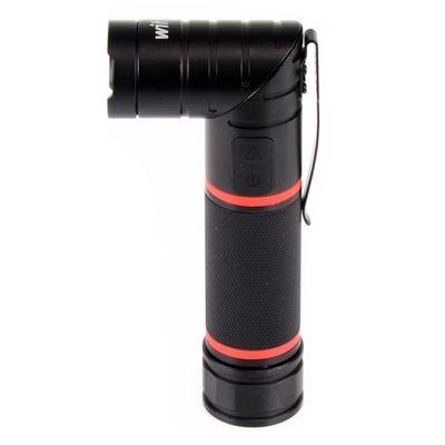 Wiha SB 246-70 LED Flashlight ( 41286 ) Taschenlampe mit LED, Laser und UV Licht im Blister inkl. 3x AAA-Batterien – Bild 3