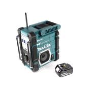 Makita DMR 112 F1 Akku Baustellen Radio 7,2 - 18V Bluetooth DAB+ + 1x 3,0Ah Akku - ohne Ladegerät