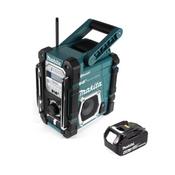 Makita DMR 112 M1 Akku Baustellen Radio 7,2 - 18V Bluetooth DAB+ + 1x 4,0Ah Akku - ohne Ladegerät
