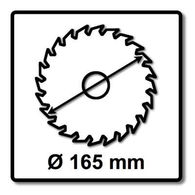 Bosch GKS 55+ GCE Handkreissäge 1350W 165mm HEAVY DUTY + 2x Sägeblatt – Bild 4
