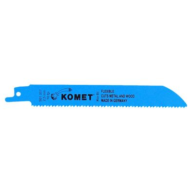 Komet Säbelsägeblatt METAL AND WOOD 150mm 10tpi 25 Stk. ( 5x 501.007 ) HSS-Bi-Metall – Bild 2