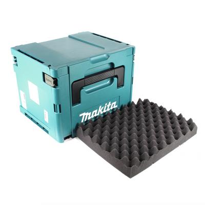 Makita MAKPAC 4 Systemkoffer - mit Universaleinlage für Makita 18 V Akku Geräte Schrauber Sägen Schleifer – Bild 2