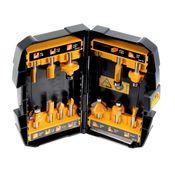 DeWalt DT 90016 Fräser Set 12-tlg. mit verschiedenen Fräsern in praktischer Box