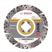 Bosch Diamant Trennscheibe X-LOCK 125 x 22,23mm Best for Universal ( 2608615161 )