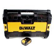 DeWalt DWST1-75663 Akku Radio 14,4V / 18V DAB+ Bluetooth AUX Tough System + 1x 4,0 Ah Akku - ohne Ladegerät