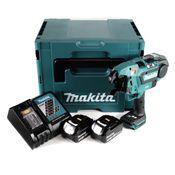 Makita DTR 180 RFJ Akku Bewehrungsverbinder 18V Brushless für 0,8mm Bindedraht im Makpac + 2x 3,0Ah Akku + Ladegerät