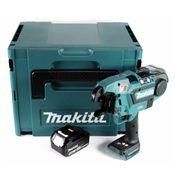 Makita DTR 180 T1J Akku Bewehrungsverbinder 18V Brushless für 0,8mm Bindedraht im Makpac + 1x 5,0Ah Akku - ohne Ladegerät