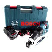 Bosch GSA 18V-32 Akku Reciprosäge 18V Säbelsäge Brushless im Handwerkerkoffer + 2x 2,0Ah Akku + Ladegerät