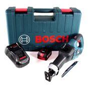 Bosch GSA 18V-32 Akku Reciprosäge 18V Säbelsäge Brushless im Handwerkerkoffer + 1x 5,0Ah Akku + Ladegerät