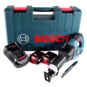 Bosch GSA 18V-32 Akku Reciprosäge 18V Säbelsäge Brushless im Handwerkerkoffer + 2x 5,0Ah Akku + Ladegerät
