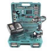 Makita DDF 482 SFTK Akku Bohrschrauber 18V 62Nm + 3,0 Ah Akku + Ladegerät + 101 tlg. Werkzeugset im Koffer