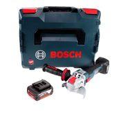 Bosch GWX 18V-10 C Akku Winkelschleifer 18V 125mm brushless X-LOCK + 1x Akku 5,0 Ah + L-BOXX - ohne Ladegerät